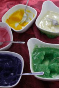 Sebzelerden boya yapımı