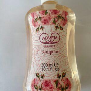 ısparta doğal gül şampuanı